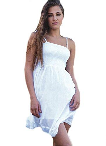 abito mare bianco cotone