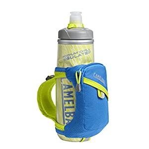 CamelBak Quick Grip Chill Handheld Bottle, Electric Blue, 21-Ounce