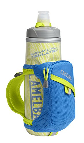 (CamelBak Quick Grip Chill Handheld Bottle, Electric Blue, 21-Ounce)