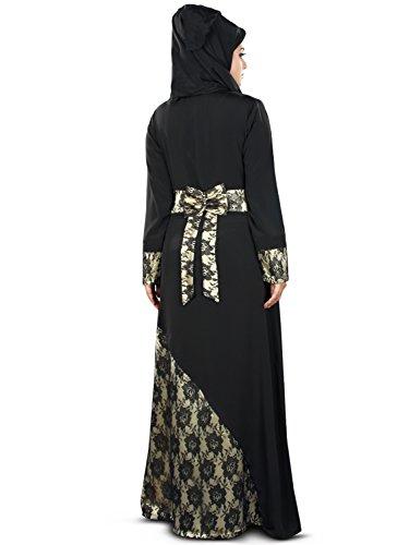 occasioni abaya islamici delle formale burqa donne e MyBatua nero 364 AY maxi wEqp85F
