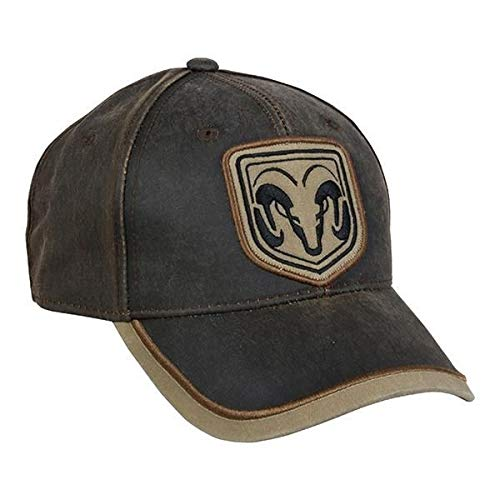 Outdoor Cap Ram Weathered Cotton Cap Dark Brown/Khaki