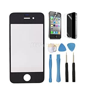 iphone covers New Display Front Screen Lens Glass for Iphone 5c Black + Gift Ms