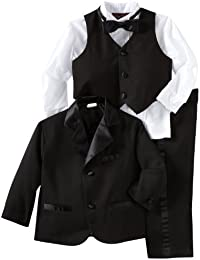 Little Boys' Little Tuxedo No Tail Suit