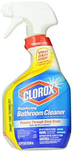 Clorox Disinfecting Bathroom Cleaner pack of 3