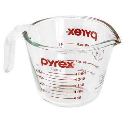 Pyrex 6001074 1 Cup Clear Measuring Cup