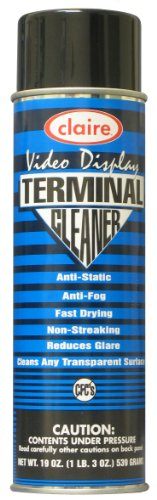 Claire C-046 19 Oz. Video Display Terminal Cleaner Aerosol Can (Case of 12)