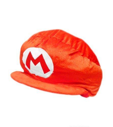 Mario Bro: Plush Costume Red Mario Hat Accessory by Nintendo