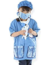 [US Deal] Save on Melissa & Doug Veterinarian Role Play Costume Dress-Up Set (9 pcs)^Melissa & Doug Veterinarian Role Play Costume Dress-Up Set (9 pcs). Discount applied in price displayed.