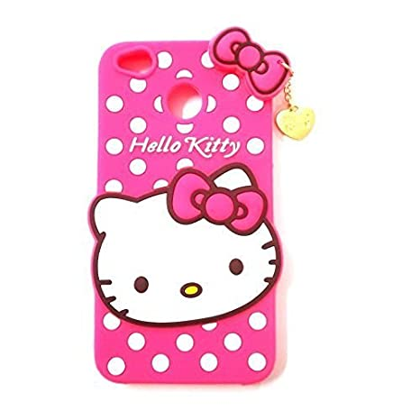 best service 943f8 a1693 Nik case for Xiaomi Redmi Y1 3D Cute Cartoon Hello Kitty Soft Silicone Gel  Back Cover Case for Xiaomi Redmi Y1 (Hello Kitty Pink)