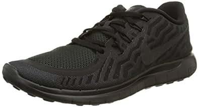 Nike Free 5.0 Sz 6 Mens Running Shoes Black New In Box