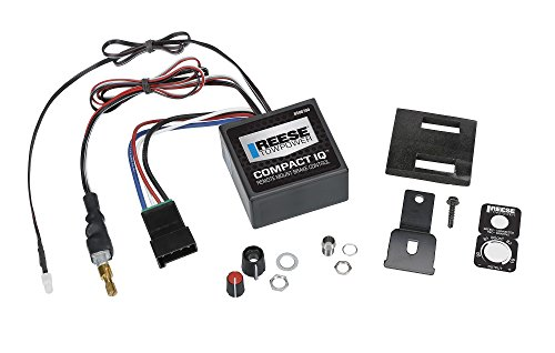 Jeep Commander Trailer Tow Wiring - Reese Towpower 8508700 Compact IQ Brake Control, 1 Pack