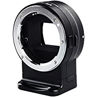 VILTROX NF E1 Auto-Focus Mount Adapter for Nikon F Mount Lens to Sony E Mount Camera with adjustable aperture, Built-in VR EXIF Transmitting and USB update port