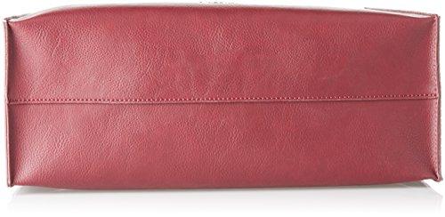 Pollini Sc4530pp04sk150a, Borsa a Mano Donna, Rosso (Bordeaux), 0.1x0.1x0.1 cm (W x H x L)
