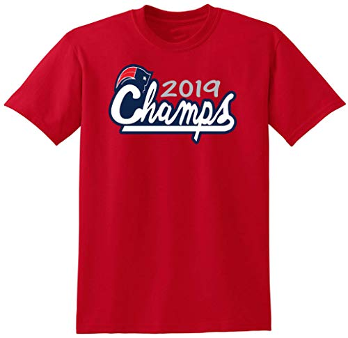 RED New England 2019 Champions Logo T-Shirt (Toddler 3T)