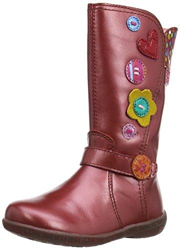 (Agatha Ruiz de la Prada 141935 Fuchsia Leather Boots EU 27/US 9-9.5)