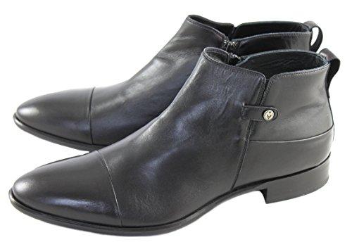 Mirage Schuhe Shoe Herren Stiefelette Kurzstiefeletten 7348 Schwarz