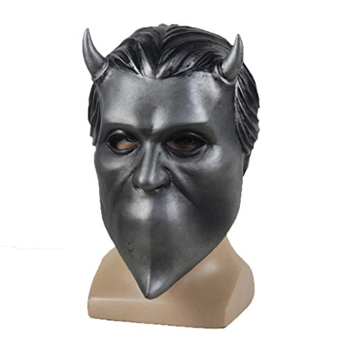 NECHARI Nameless Ghouls Mask Ghost Heavy Metal Doom Hard Rock Band Helmet Halloween Cosplay Prop Be The First to Review This Item -