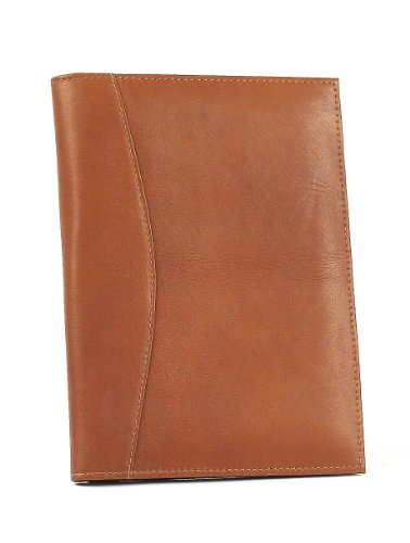 claire-chase-small-executive-folio-saddle-one-size