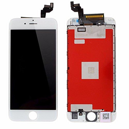 """Sintron iPhone 6S Plus LCD Bildschirm Ersatz - iPhone 6S Plus 5.5"""" Weiß LCD Display Touchscreen Bildschirm Digitizer Assembly für Reparaturset Ersatz Einschließlich Kostenlose Werkzeug (iPhone 6S Plus, White)"""