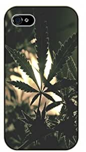 iPhone 4 / 4s Weed and dope - Leaves - black plastic case / Verses, Inspirational and Motivational