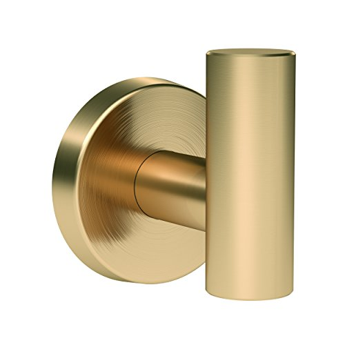 Amerock BH26542BBZ Arrondi Robe Hook, 1-7/8, Brushed Bronze/Golden Champagne