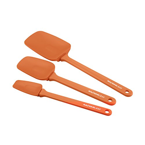 Spoonula Heat (Rachael Ray Tools 3-Piece Spoonula Set, Orange)