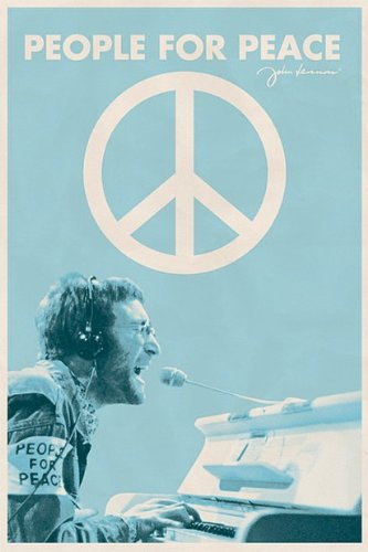 John Lennon People For Peace Poster by Generic