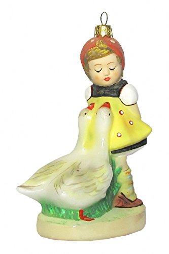 - Hummel Manufaktur Hummel Figurine Christmas Ornament Goose Girl, Original MI Hummel Collection, Gift-Boxed