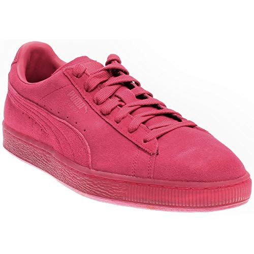 PUMA Mens Suede Classic Ice Mix Casual Sneakers, Pink, 11