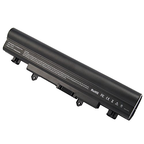 Fancy Buying AL14A32 Laptop Battery for Acer Aspire E1-571 E5-571 E5-411 E5-421 E5-511 E5-521 V3-472 V3-572 E14 E15 Touch Extensa 2509 2510 Travelmate P246 TMP246 Series, 4400mAh/11.1V/6-Cells
