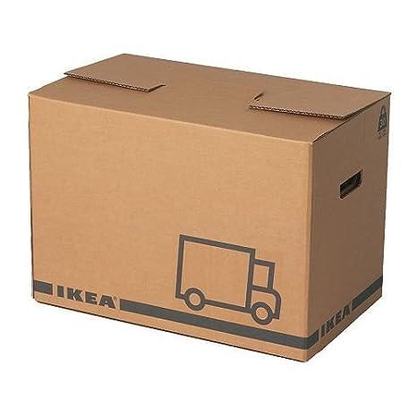 Ikea Jaettene Trasloco In Marrone Confezione Da 10 Pezzi 56 X 33 X