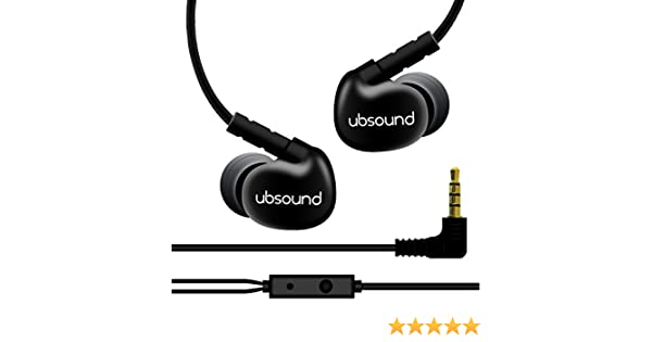 10ea776021d Amazon.com: UBSOUND Orchestra - Premium Ergonomic HD in-Ear Earphones  (IEM): Home Audio & Theater