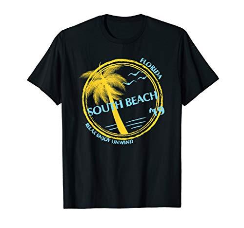 South Beach Miami Souvenir Gift Shirt For Spring Break -