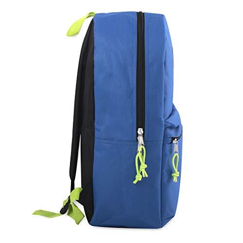 17'' Trailmaker Backpack Bookbag (Blue (01)) by Trail maker (Image #1)
