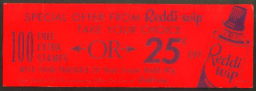reddi-wip-dayglow-trading-stamps-offer-card-1950s