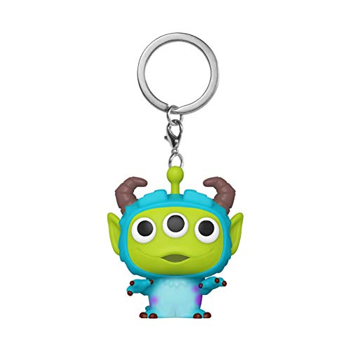 Funko- Pop Keychain Pixar-Alien as Sulley Anniversary Figura Coleccionable, Multicolor (48356)