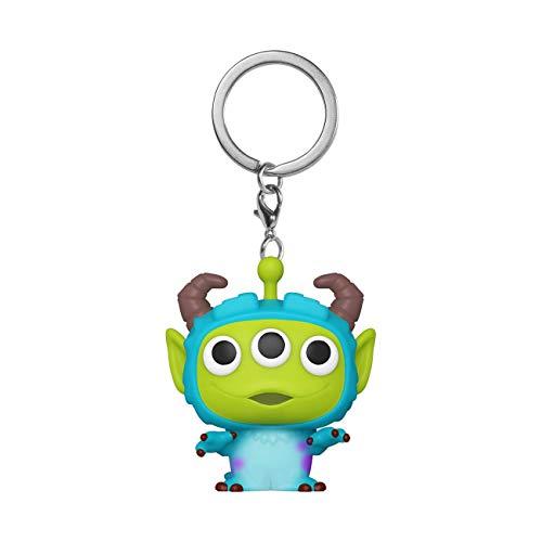 Funko- Pop Keychain Pixar-Alien as Sulley Anniversary Figura Coleccionable, Multicolor (48356)