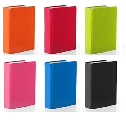 - Stretchable Standard Size Book Covers, 6 Pack, Assorted Solids