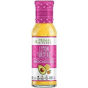 Primal Kitchen - Avocado Oil-Based Dressing and Marinade, Lemon Vinaigrette, 8 oz, Whole30 and Paleo Approved