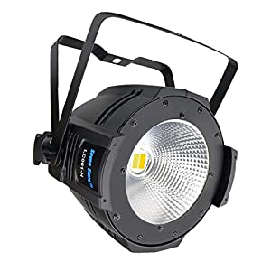 Flashandfocus.com 41KypJJD-kL._SS300_ SevenStars DJ lights COB Warm and Cold White Par Lighting, 100W DMX Par Light Sound Activated, Professional Stage lights…