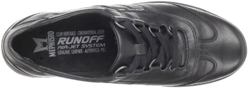 Laser Shoes Womens Leather Mephisto Black Softy 5OfPxwA