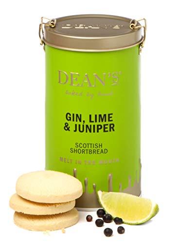(Dean's Shortbread, Gin, Lime & Juniper Scottish Shortbread Rounds Tin, 5.3 Ounce ...)