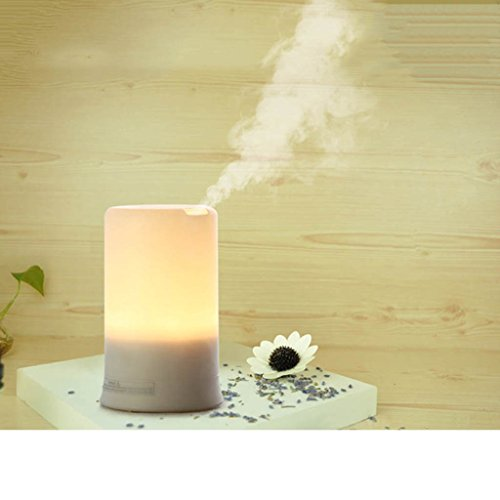 Lary intel LED USB Essential Oil Ultrasonic Air Humidifier Aroma therapy Diffuser