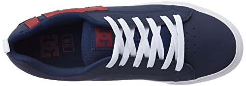 DC Shoes Court Vulc, Herren Sneakers, Blau (Dark Blue), 44.5 EU / 11 US