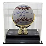 Trevor Hoffman Autographed Signed San Diego Padres Official Major League Baseball 3 Insc JSA With Deluxe Baseball Display Case