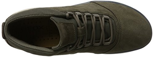 Nebula U Hautes Homme Sneakers Geox A Gris taupe T4H1SF5W