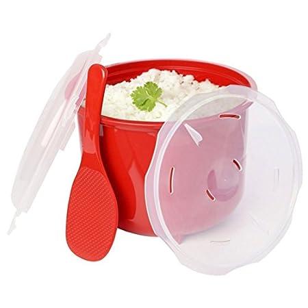 FunnyTod365 - Vaporizador para microondas con tapa de cuchara (19 ...