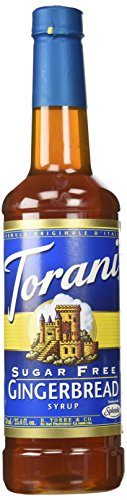 Make the best mint julep recipe with Torani Sugar Free Gingerbread Syrup 750mL