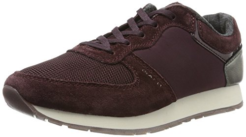 Sneakers Rosso french Linda Glove Red donna da G531 Roast Verde TxwwfHqp