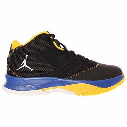 Nike Jordan Domstol Visionen 99 Mens Svart / Vit / Royal / Varsity Basket Sneakers Svart